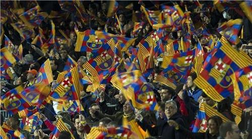 جماهير برشلونة تحضر كلاسيكو نهائي الكأس بالقرعة