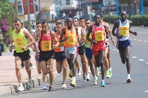 العداؤون المغاربة يتصدرون ترتيب سباقي بوسكورة الدولي