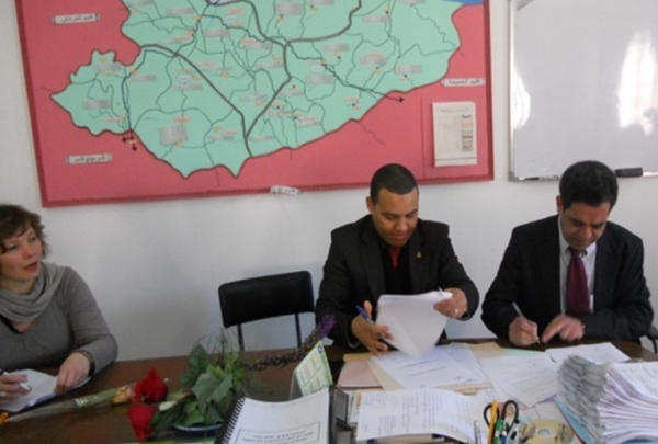 نيابة تعليم شفشاون توقع اتفاقية شراكة مع مكتب الخدمات التربوية بهولندا