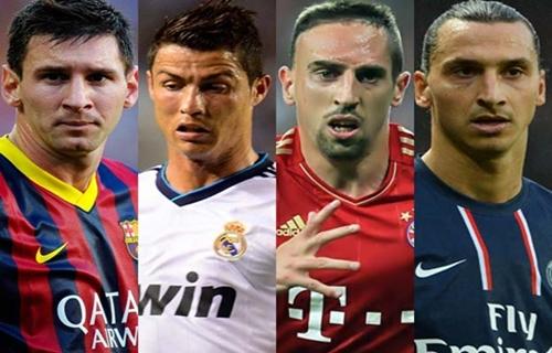 ميسي لاعب كرة القدم الأكثر شعبية في فرنسا