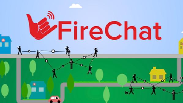 """شركة """"فاير شات"""" تطلق تطبيقا جديدا للدردشة لا يحتاج للاتصال بالإنترنت"""