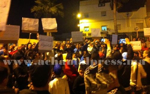 احتجاجات السلفيين مستمرة ببني مكادة للمطالبة بإطلاق سراح شيوخهم المعتقلين