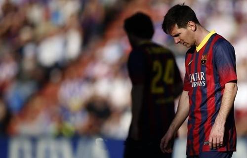 برشلونة مهدد بالخروج صفر اليدين تحت قيادة تاتا