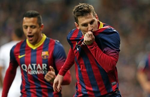 ميسي ينفرد بلقب الهداف التاريخي لمباريات الكلاسيكو