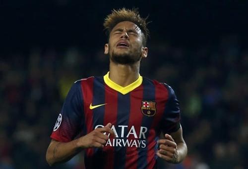 ماركا : نيمار يعيش أسوأ أيامه ببرشلونة في 2014
