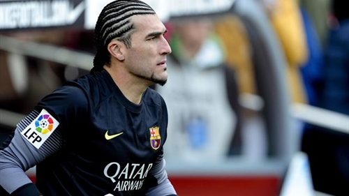 """أرقام الحارس البديل """"بينتو"""" تطمئن برشلونة رغم غياب """"فالديس"""""""