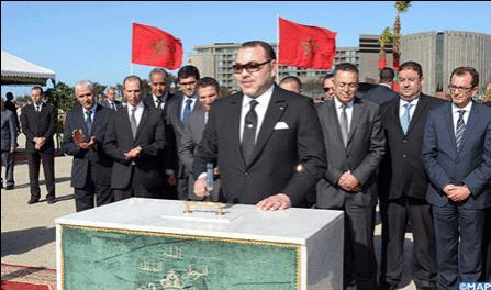 الملك محمد السادس يعطي انطلاقة مشاريع مهيكلة بطنجة لتعزيز الدينامية التنموية