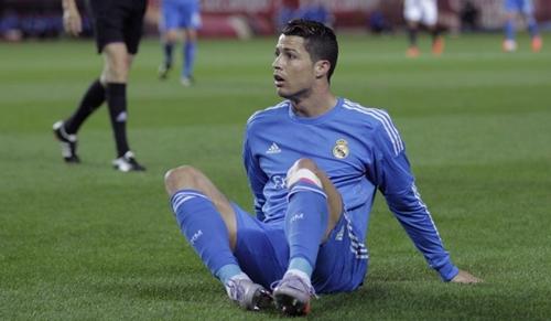 رعب في ريال مدريد من تفاقم إصابة كريستيانو رونالدو في ركبته