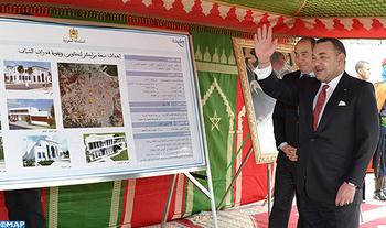 الملك محمد السادس يعطي انطلاقة مشاريع جديدة بمدينة طنجة تعنى بالشباب والمرأة