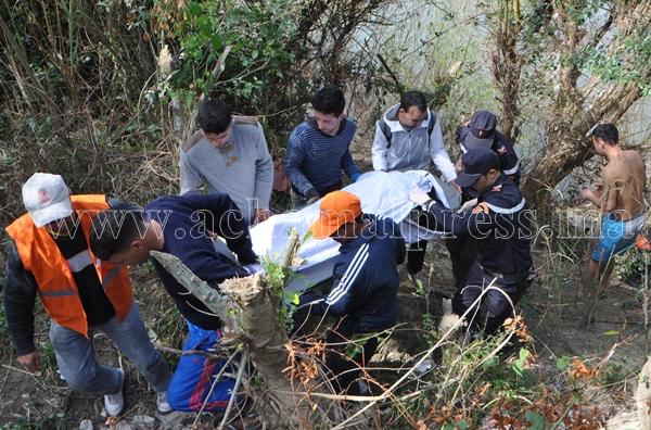 العثور على جثة امرأة مجهولة الهوية بواد المحنش بتطوان