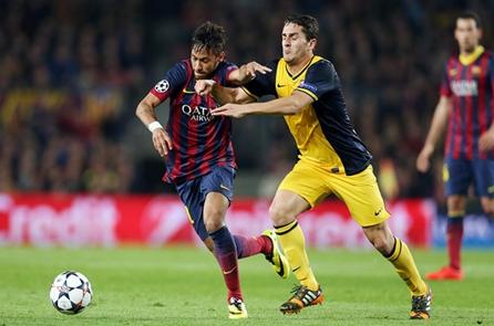 تعادل ايجابي بين برشلونة وأتلتيكو مدريد يحيل الحسم إلى موقعة مدريد