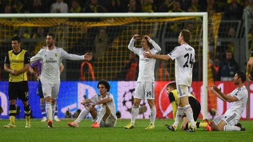 ريال مدريد يخسر أمام بوروسيا دورتموند ويبلغ نصف نهائي دوري أبطال أوروبا