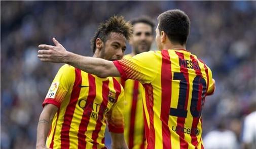 """برشلونة يرفض ارتداء قميص كتالونيا في """"فيسنتي كالديرون"""""""