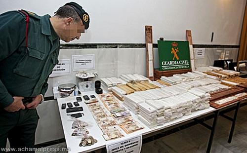 خبراء أمنيون: ثلث الكوكايين المروج بأوروبا يعبر من شمال المغرب