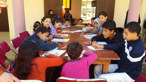 جمعيات المجتمع المدني بالقصر الكبيرتحتفل بيوم اليتيم