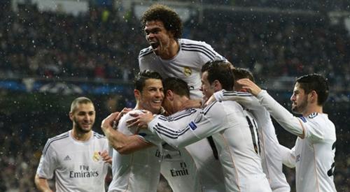ريال مدريد أكثر الفرق الأوروبية تأهلا لقبل نهائي دوري الأبطال