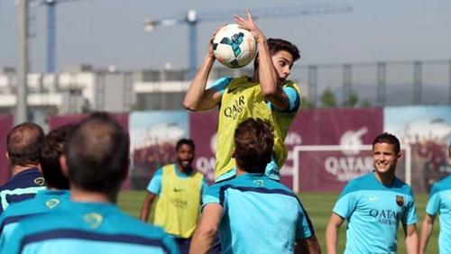 بارترا يغيب عن برشلونة للإصابة