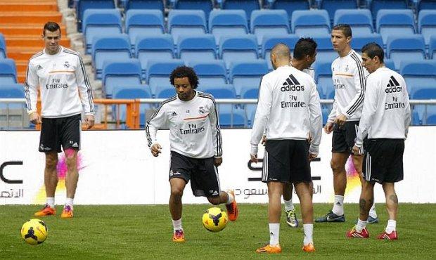 عودة مارسيلو لتدريبات الريال مدريد