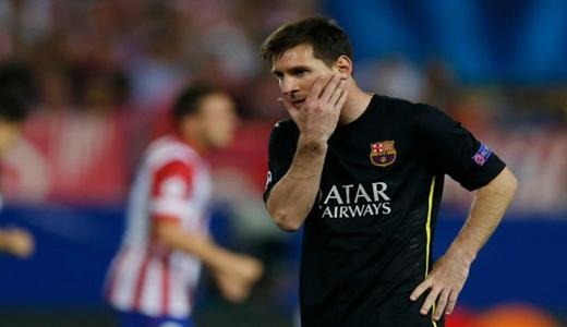 برشلونة يسقط أوروبيا عندما يصوم ميسي عن التهديف