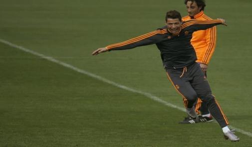 كريستيانو يعود لتدريبات الريال مدريد إستعدادا لدورتموند