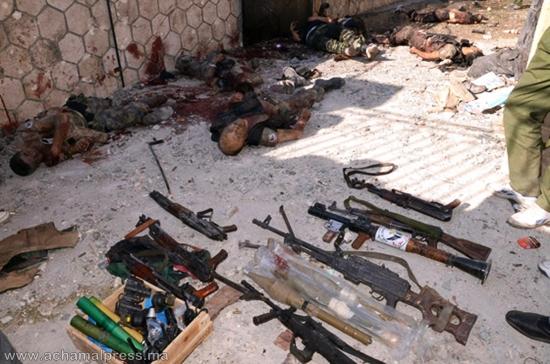 مقتل ست مجاهدين من مدن الشمال في معارك شرسة بين النظام والمعارضة السورية