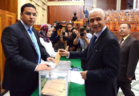 انتخاب رشيد الطالبي العلمي رئيسا جديدا لمجلس النواب