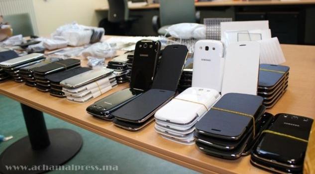 حجز هواتف ذكية ومعدات طبية بقيمة 189 مليون سنتيم بميناء طنجة المتوسط