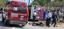 24 قتيلا و1383 جريحا في حوادث السير بالمغرب خلال الأسبوع