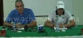 أبرشان وبنهاشم يعقدان ندوة صحفية لتسليط الضوء على اختلالات اتحاد طنجة واستعداداته (تقرير مصور)