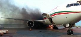 """نجاة 275 حاج مغربي من موت محقق بعد إنفجار عجلات طائرة تابعة لـ """"لارام"""""""