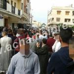 """إنزال أمني مكثف لمنع مسيرة شعبية ضد """"أمانديس"""" في أصيلة"""