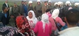 مواجهات عنيفة بين فلاحين وقوات الأمن العمومي بضواحي القصر الكبير