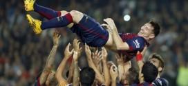 """برشلونة يسحق اشبيلية بخماسية و""""ميسي"""" يحطم رقم """"زارا"""" التاريخي"""