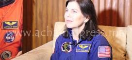 رائدة الفضاء الأمريكية تعرض تجربتها المهنية في عالم الفضاء بطنجة (تقرير مصور)