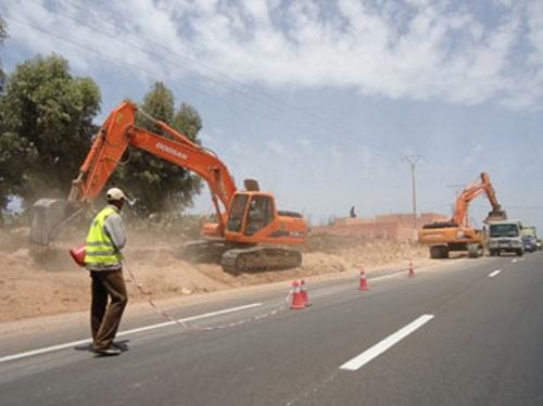 تحويل مؤقت لحركة السير على الطريق الوطنية رقم 2 بين تازة والحسيمة