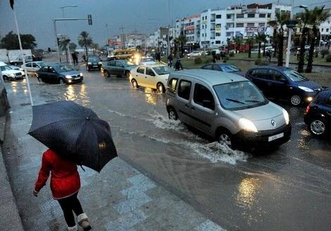 مديرية الأرصاد الجوية تحذر من أمطار قوية بالمناطق الشمالية للمملكة