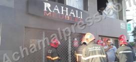 شاحن هاتف محمول يتسبب في اندلاع حريق بشقة ومحل تجاري في طنجة