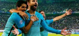 برشلونة يحول تأخره أمام مونشنجلادباخ لفوز مثير في دوري الأبطال