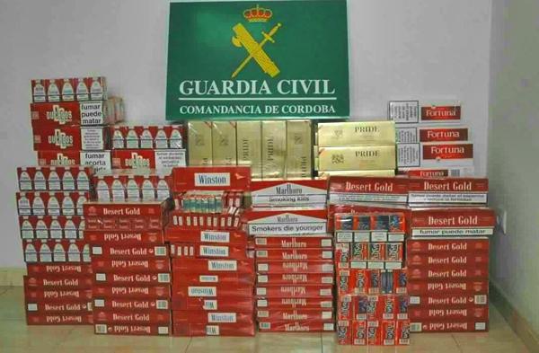 ضبط حوالي 3500 علبة سجائر مهربة بميناء الجزيرة الخضراء قادمة من طنجة
