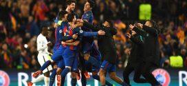برشلونة يحقق المعجزة ويطيح بباريس سان جيرمان بسداسية