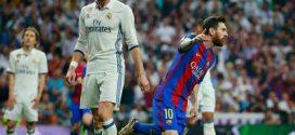 """ميسي يقود برشلونة للفوز بثلاثية """"مثيرة"""" على ريـال مدريد"""
