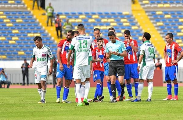 جامعة الكرة تغير موعد مباراة المغرب التطواني والرجاء البيضاوي