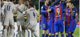 الليغا الاسبانية.. اختبار صعب لريال مدريد وبرشلونة يتربص