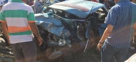 مصرع 3 أشخاص وإصابة 5 اخرين في حادثة سير خطيرة بمدخل طنجة