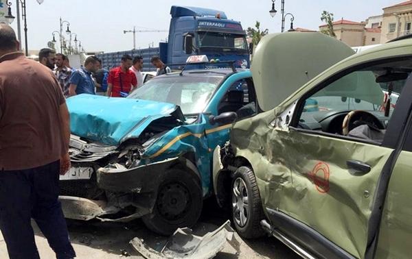 حوادث السير تخلف 32 قتيلا وأزيد من 1500 جريحا بالمناطق الحضرية خلال اسبوع