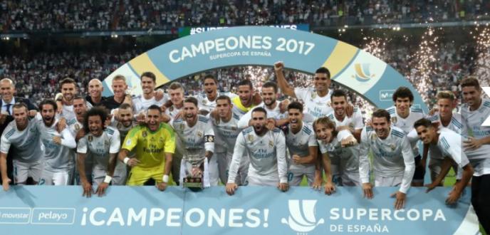 ريال مدريد يتفوق على برشلونة ويتوج بكأس السوبر الإسباني