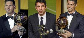 """""""ميسي"""" و""""رونالدو"""" و""""بوفون"""" يتنافسون على جائزة الأفضل أوروبيا"""