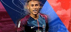 باريس سان جيرمان يتعاقد رسميا مع البرازيلي نيمار لمدة 5 مواسم