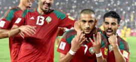 المنتخب الوطني المغربي يحسن ترتيبه في تصنيف الفيفا الشهري