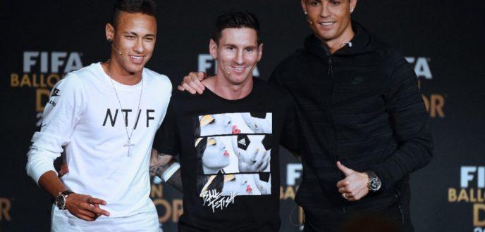 رونالدو وميسي ونيمار يتنافسون على جائزة الفيفا لأفضل لاعب في العالم